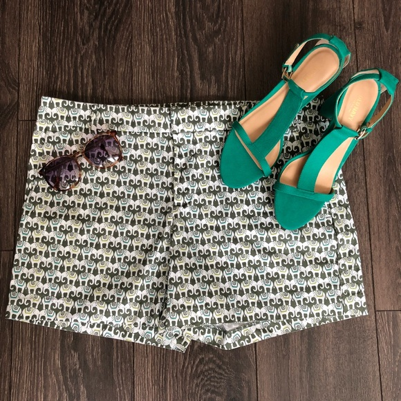 Banana Republic Pants - Elephant Print Shorts!